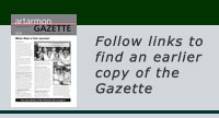 Past Issues of Gazette