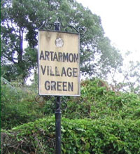 Village Green Sign